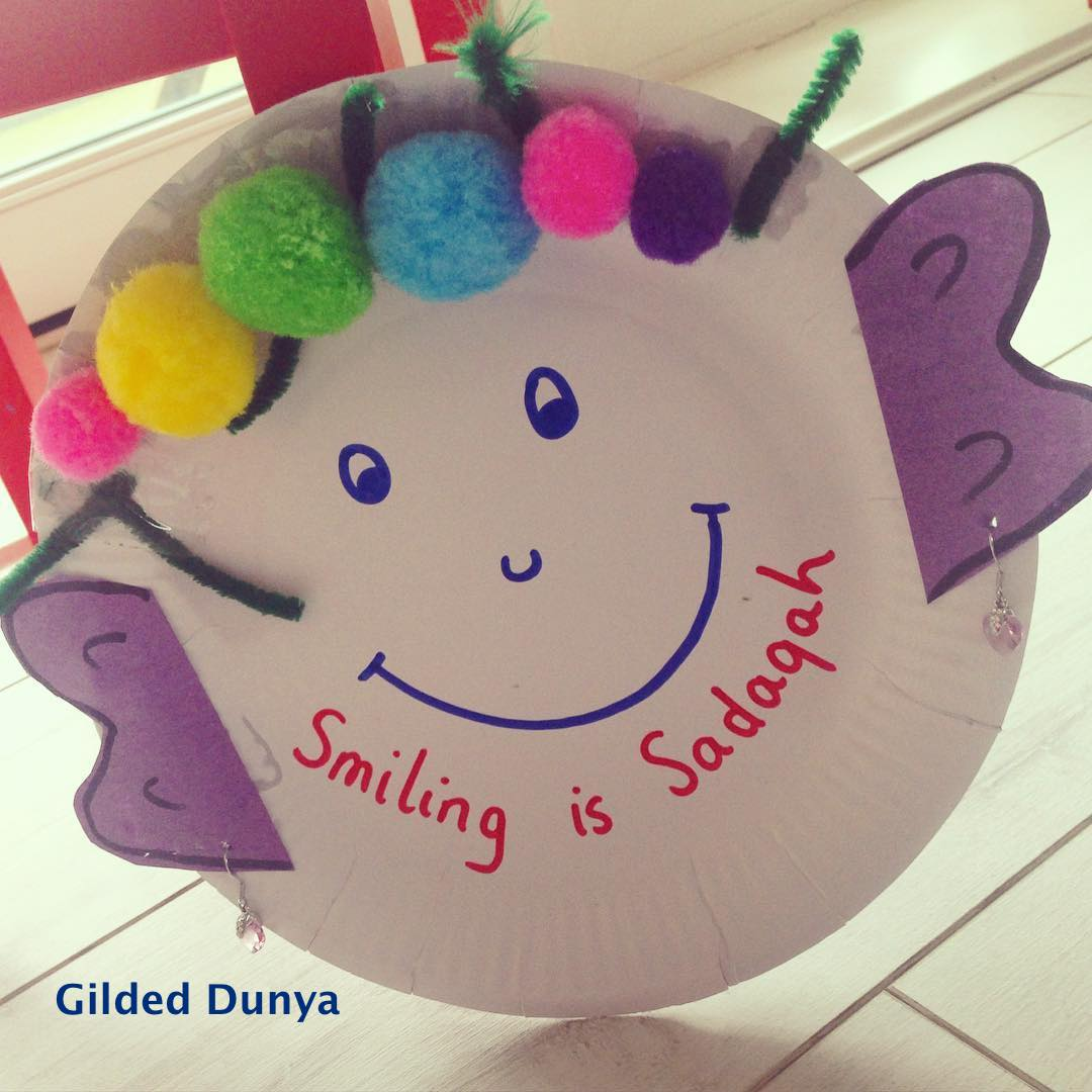 Smiling is Sadaqah :-) (and so are other things) – Gilded Dunya